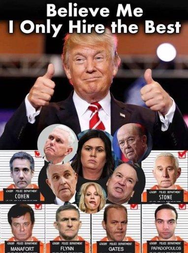 trump hires the best