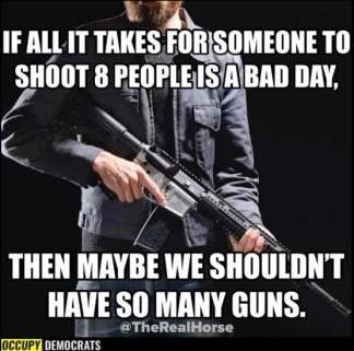 guns a bad thing for those having bad days AHNC