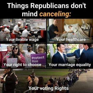 Republican cancel culture AHNC