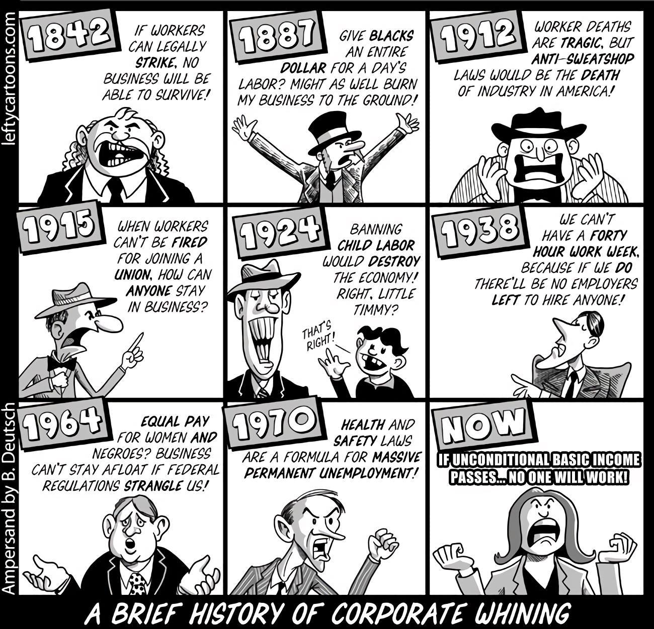 corporate whining DU