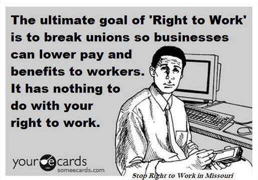 right to work for less laws
